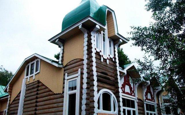 Хостел Дом Охотника вид на фасад