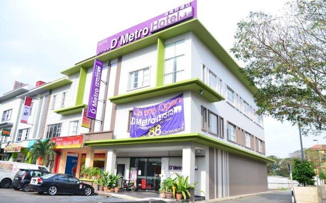 D'Metro Hotel вид на фасад