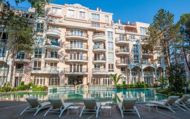 Отель Anastasia Palace Apartment Болгария, Солнечный берег - отзывы, цены и фото номеров - забронировать отель Anastasia Palace Apartment онлайн бассейн