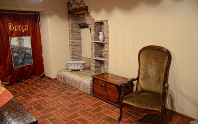 Отель La Locanda Del Passerotto Остия-Антика комната для гостей