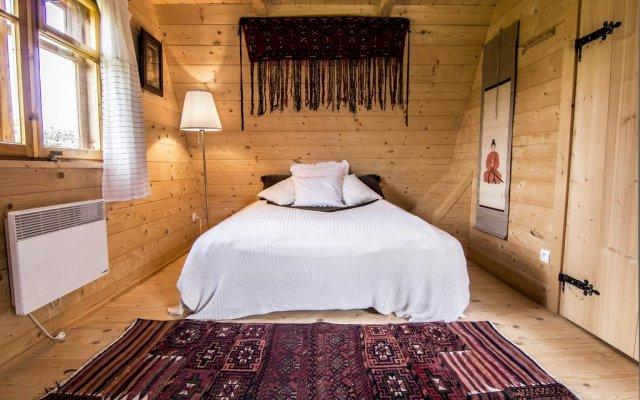 Отель Domek Rysulowka Zakopane Косцелиско комната для гостей