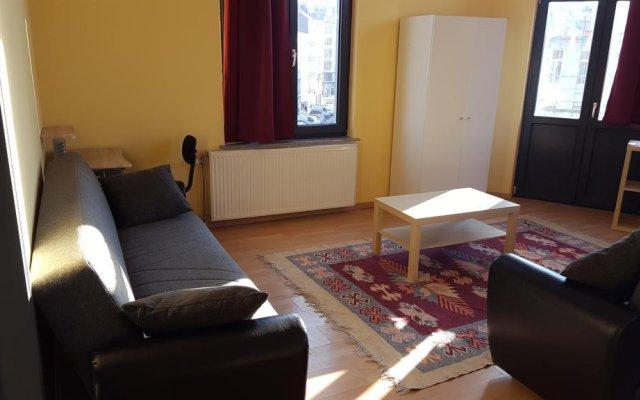Отель RÉsidence Muken 2 Брюссель комната для гостей