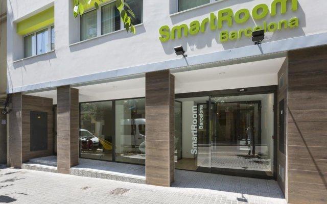 Отель SmartRoom Barcelona вид на фасад