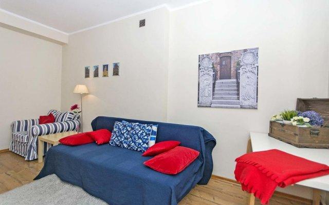 Апартаменты The Best Stay Apartments Гданьск комната для гостей