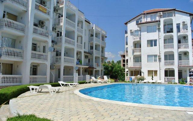 Отель Tara Bravo 5 Apartments Болгария, Солнечный берег - отзывы, цены и фото номеров - забронировать отель Tara Bravo 5 Apartments онлайн вид на фасад