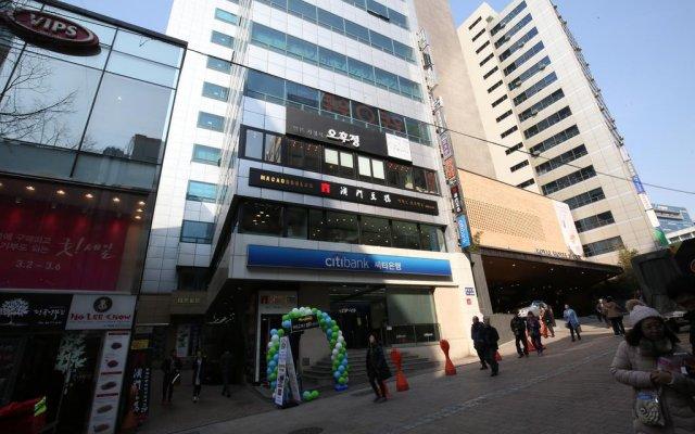 Отель Philstay Myeongdong Сеул городской автобус