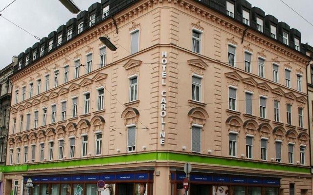 Отель Caroline Австрия, Вена - 3 отзыва об отеле, цены и фото номеров - забронировать отель Caroline онлайн вид на фасад