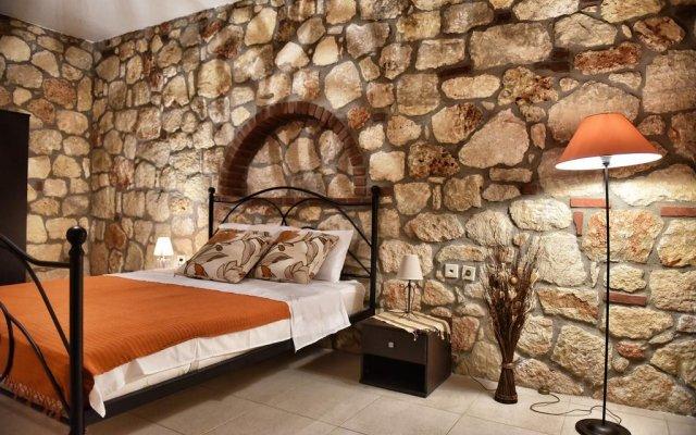 Отель Zachariou Stone Villas комната для гостей
