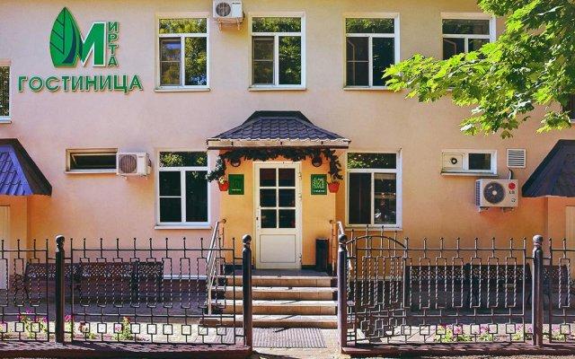 Гостиница Мирта в Саранске 1 отзыв об отеле, цены и фото номеров - забронировать гостиницу Мирта онлайн Саранск вид на фасад