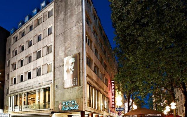 Отель LUITPOLD Мюнхен вид на фасад