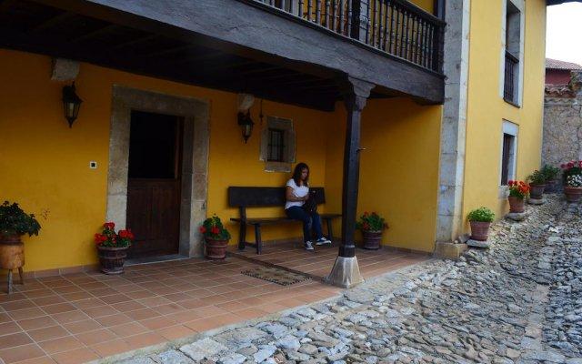 Отель Casa Rural La Corrolada вид на фасад