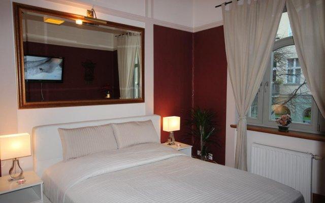 Отель Apartament Gratia Rosa Сопот комната для гостей