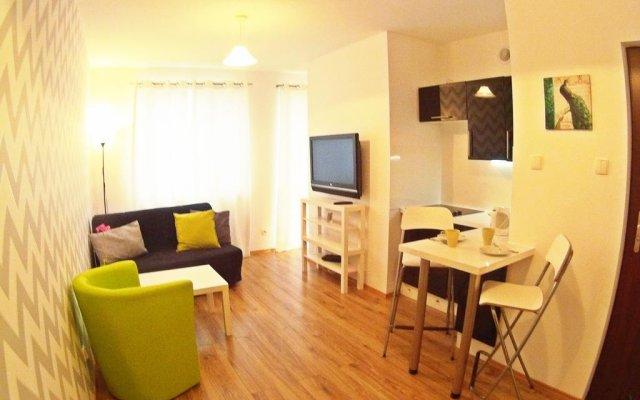 Отель Apartamenty Przytulne Przemyska Гданьск комната для гостей