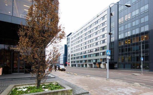 Отель City Center Loft вид на фасад
