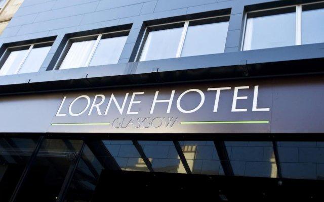 Lorne Hotel Glasgow Глазго вид на фасад