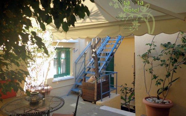 Отель Via Via Hotel Греция, Родос - отзывы, цены и фото номеров - забронировать отель Via Via Hotel онлайн вид на фасад
