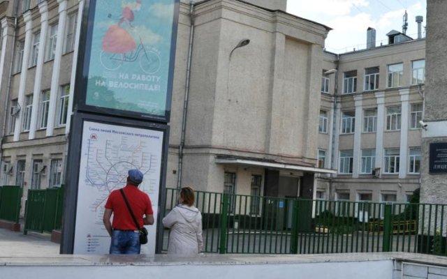 Апартаменты на Большой Полянке 28к1 вид на фасад