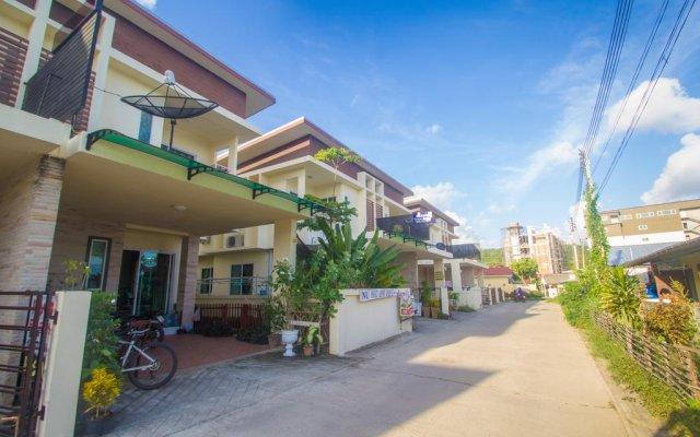 Отель Nu Phuket Airport Residence пляж Май Кхао вид на фасад