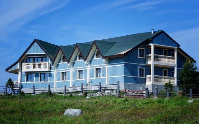 Гостиница Ostrovito Morushko вид на фасад