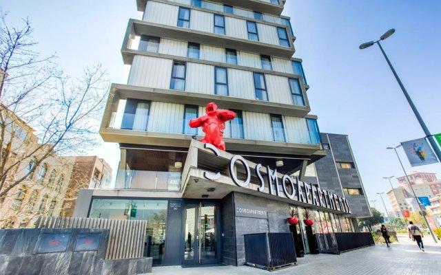 Апартаменты Cosmo Apartments Sants вид на фасад