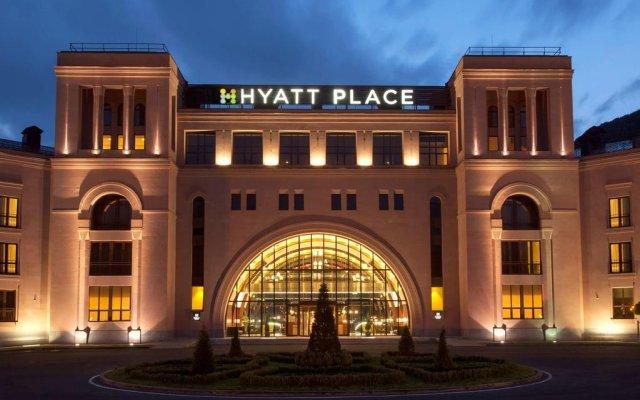 Отель Hyatt Jermuk вид на фасад