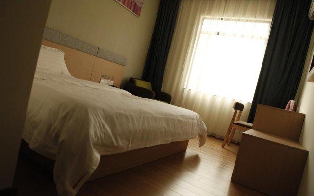 Отель 7Days Inn Shenzhen Xilin Metro Station Шэньчжэнь комната для гостей