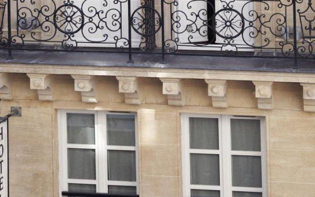 Отель Best Western Premier Louvre Saint Honore вид на фасад
