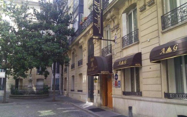 Отель Hôtel André Gill Франция, Париж - отзывы, цены и фото номеров - забронировать отель Hôtel André Gill онлайн вид на фасад