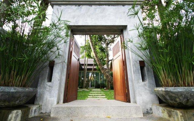 Отель Ban Thai Villa Пхукет вид на фасад