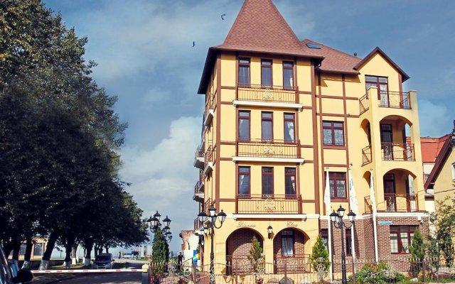 Мини-Отель Принцесса Элиза вид на фасад