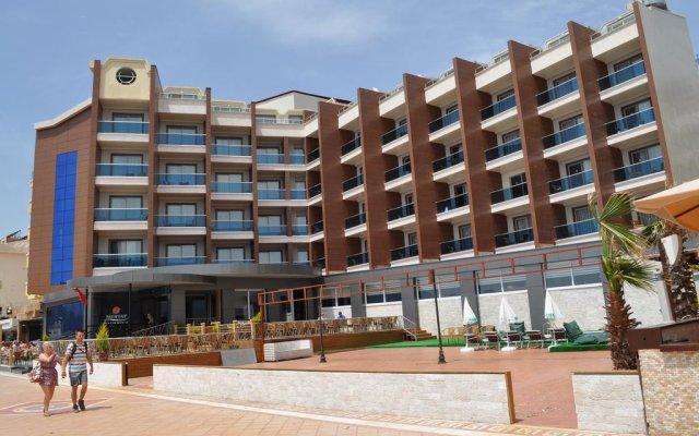 Mehtap Beach Hotel Турция, Мармарис - отзывы, цены и фото номеров - забронировать отель Mehtap Beach Hotel онлайн вид на фасад