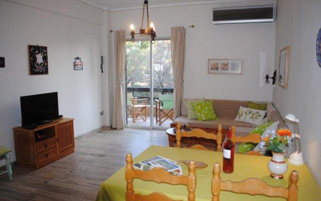 Отель Daniil's Seafront Apartment Греция, Ситония - отзывы, цены и фото номеров - забронировать отель Daniil's Seafront Apartment онлайн комната для гостей