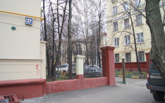 Апартаменты Люкскампани Апартаменты на Ленинском Проспекте вид на фасад