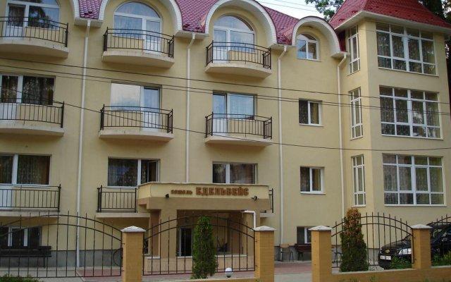 Гостиница Edelweis вид на фасад