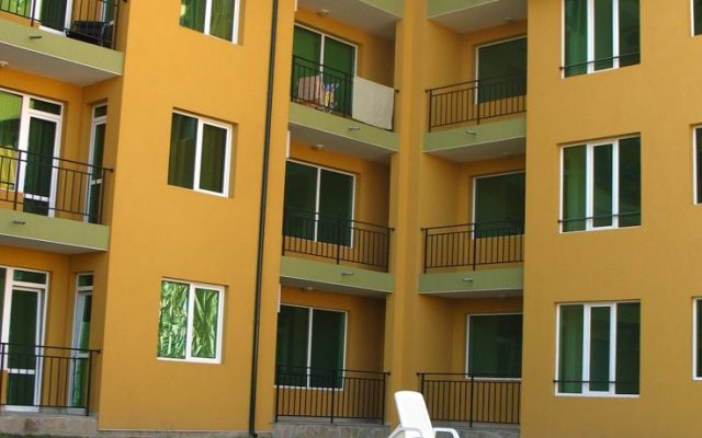 Апартаменты Хермес вид на фасад