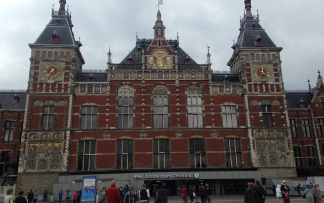 Отель LUXER Амстердам вид на фасад