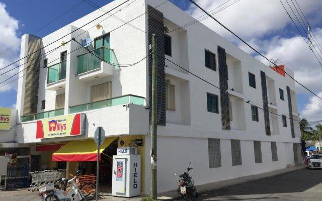 Отель Cancun Ecosuites Мексика, Канкун - отзывы, цены и фото номеров - забронировать отель Cancun Ecosuites онлайн вид на фасад