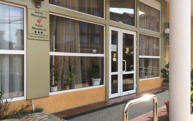 Гостиница Мандарин вид на фасад
