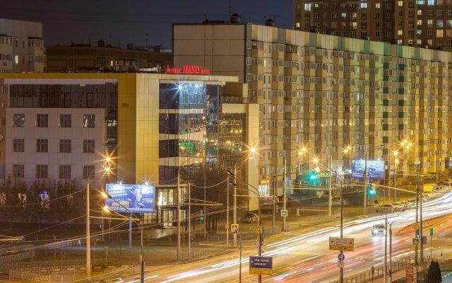 Гостиница Мано вид на фасад