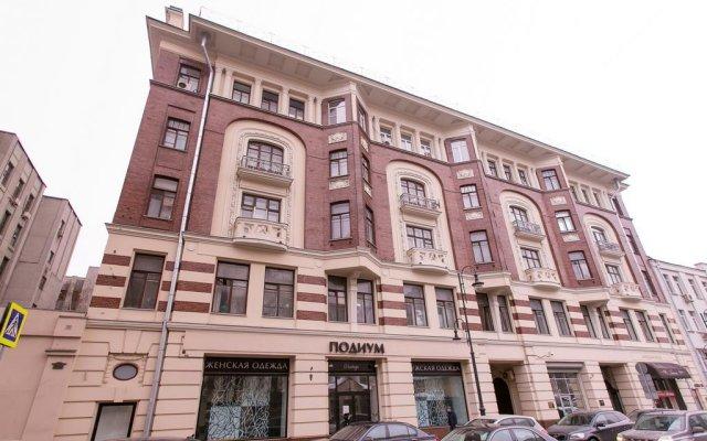 Hostel Yuriy Dolgorukiy вид на фасад