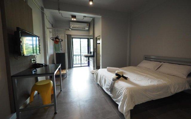 Отель S1hostel Bangkok Бангкок комната для гостей