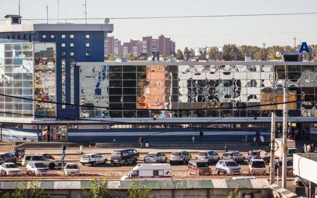 Гостиница Воздушная Гавань вид на фасад