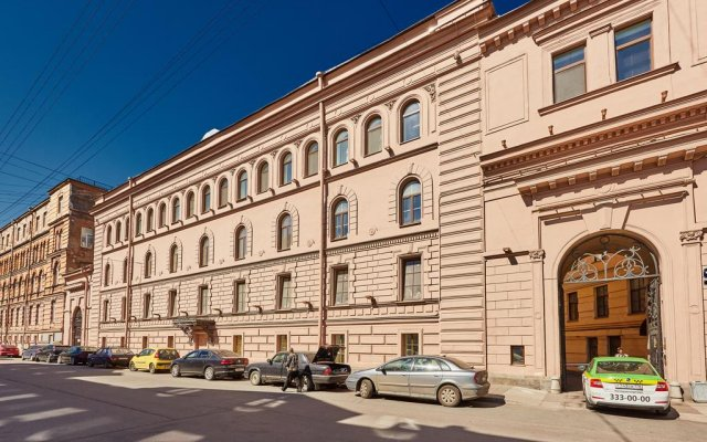 Гостиница Калейдоскоп на Итальянской вид на фасад