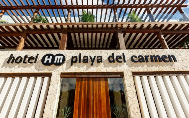 Отель Hm Playa Del Carmen Плая-дель-Кармен вид на фасад