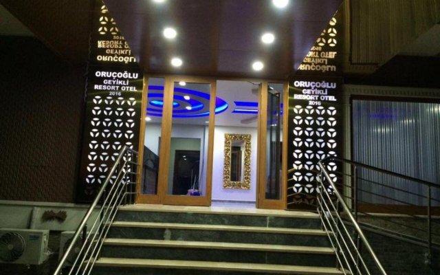 Отель Grand Geyikli Resort Otel Orucoglu вид на фасад