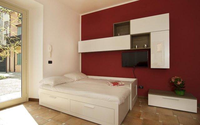 Апартаменты Pallanza Apartment Вербания комната для гостей