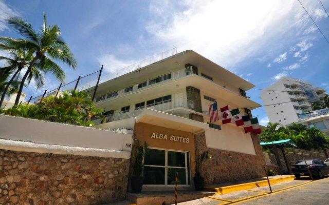 Отель Alba Suites Acapulco вид на фасад