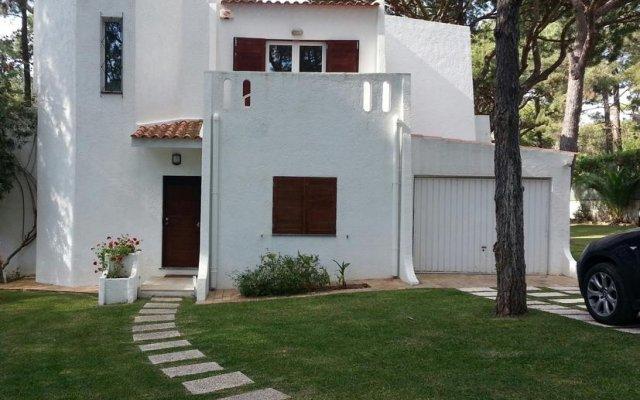 Отель Villapinheiros вид на фасад