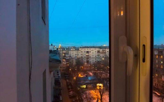 Апартаменты Business Apartment Kutuzovsky 35 вид на фасад
