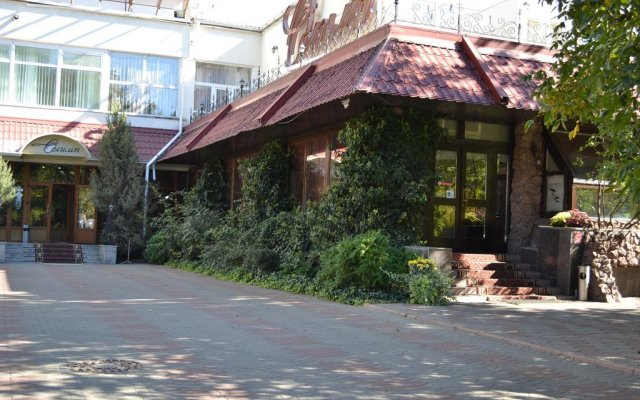 Гостиница Olimp Club вид на фасад